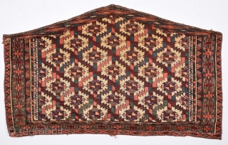 Mid.19th Century Yamud Asmalık Completely original Happy Colors Size 70 x 116 Cm