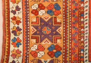 Middle of the 19th Century Anatolian Melas Rug It has great colors ıt's in good condition untouched all original Size 110 x 140 cm