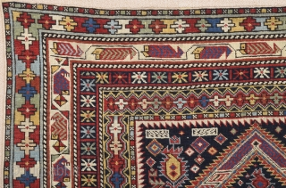 19th Century Marasali Prayer Rug Size 110 x 140 cm.It has nice pile on it in good condition.Colorful one.