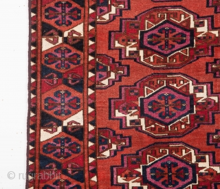 Mid 19th Century Saryk Chuval It's in Good Condition Size 91 x 127 Cm