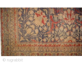 "Hereke Turkish Signed as Hereke, circa 1920 old,  Size: 455 x 300 (cm) 14' 11"" x 9' 10""  carpet ID: P-6190 