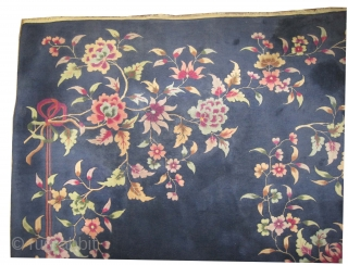 "Chinese Art Deco period circa 1930, Size: 346 x 270 (cm) 11' 4"" x 8' 10""  carpet ID: P-5553
