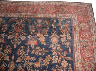"Mouhajaran Sarouk Persian (American) circa 1915 antique. Size: 540 x 300 (cm) 17' 8"" x 9' 10""  carpet ID: P-5994