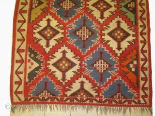 Shirvan Caucasian kilim, woven circa in 1918 antique, 164 x 313 cm, carpet ID: DD-15 In perfect condition, in its original shape, finely woven.