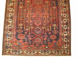 Baktiar Armenibaf Persian, knotted circa in 1910, antique, 162 x 305 cm, carpet ID: DD-37 In good condition, rare design.