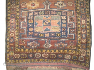 """Gutschan-Kurd Persian, knotted circa in 1915 antique. Collector's item, Size: 238 x 120 (cm) 7' 10"""" x 3' 11"""" CarpetID: K-1072 The background is cinnamon, thick pile in perfect condition, fine knotted, rare  ..."""