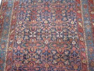 "Bidjar Halvai Persian, knotted circa in 1895 antique. Collectors item. Size: 540 x 340 (cm) 17' 8"" x 11' 2""  CarpetID: P-3379 