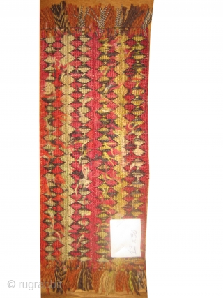 Sumak Caucasian, woven circa in 1915 antique, 13 x 30 cm. Article No: MMM-60