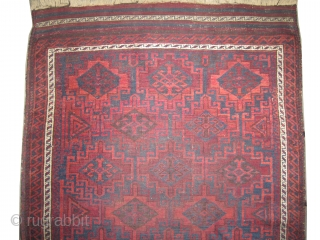 "Belutch Persian circa 1905 antique. Collector's item, Size: 132 x 94 (cm) 4' 4"" x 3' 1"" 