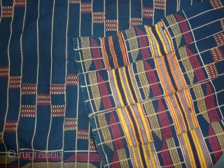 'Thousand shields' Kente cloth, wearer considered a brave man