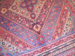 425 x 217 cm PALACE CARPET knotted in the OASI of KASHGAR. East Turkestan - XINJIANG carpet In perfect condition. More pictures on request.  ALL the best from  COMO !