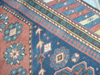 140 x 95 cm. Caucasus Shirvan district of KUBA. Mint condition. All original. End of XIX° th century. Other info or pictures on request. Greeting from COMO !