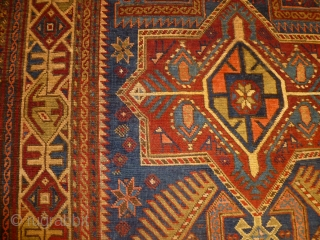 Caucasus antique Shirwan Akstafa in very good condition and with amazing palette.