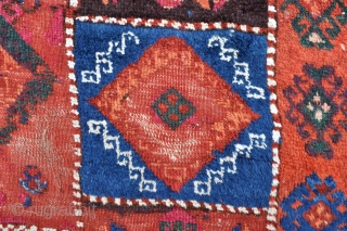 East Anatolian Rug with some cotton pile and great colors - 4'0 x 10'5 ft. - 122 x 318 cm.