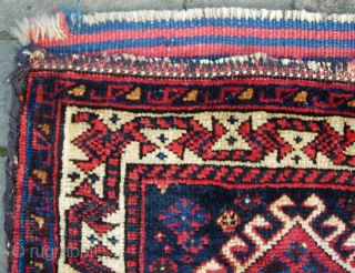 Tribal bag-- 19 x 17 in. Maybe Luri. Pretty good condition.  The $15 for UPS shipping to lower 48