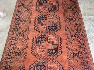 Antique ersari philpai Turkmen rug from north Afghanistan. Excellent condition. More than 100 years old. Size 217x120 cm