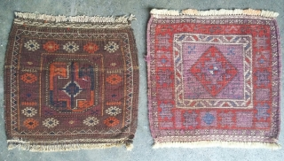 Very soft and old balochi with very rich colors. Each size 41x45 cm