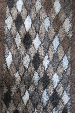 Anatolian – Karapinar Taurus mountains, Tulu rug with mixture of Angora wool. It must have 40-50 % angora wool in it as it is a heavy rug compare to its size. It  ...