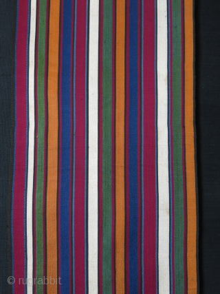 "Caucasian extreme finely woven Jajim fragment ( most Images are close ups ) super saturated colors. Mint condition. Circa second half of 19th, Size : 37"" long - little less than 10""  ..."