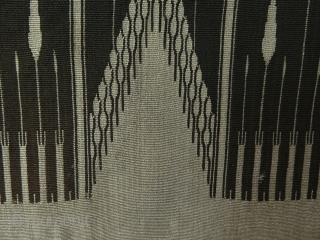 Syrian Silk and Metallic Thread aba fragment.