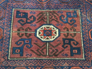 Baluch bag face.Good colors and condition