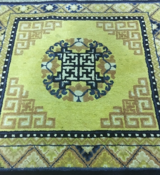 In a perfect condition Chinese rug