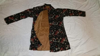 Antique chinese silk embroidered coat.Email for more info and pics.