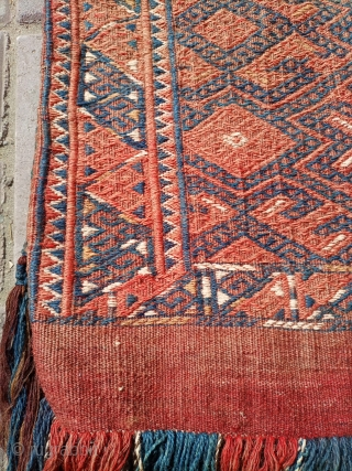 Old Afghani kilim somak khorjin.fine and nice quality.size 77×40 cm.Email for more info and price.
