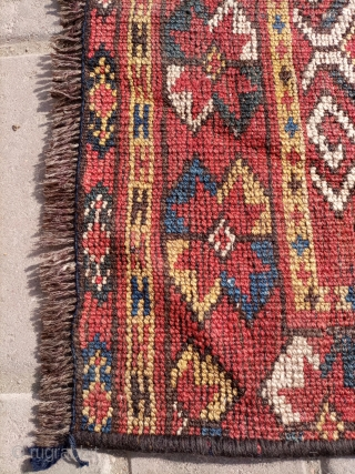 Antique Russian Giorgi fragment rug.size 50×33 cm.Email for more info and pictures.