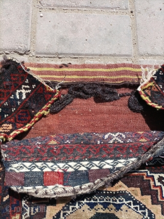 Old baluch khorjin.soft and shiny wool.Email for more info and price.