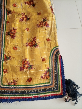 Old textile kameez.used white gold on stars.Email for more info and price.