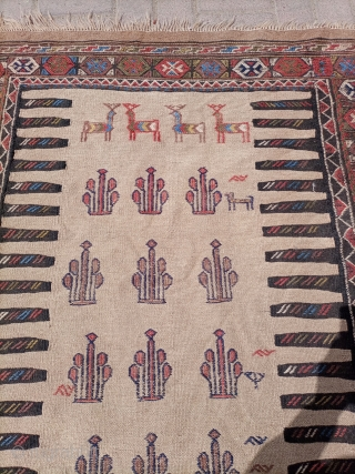 Quchan kilim somak NE iran.Size 190×107 cm Email for more info and price.