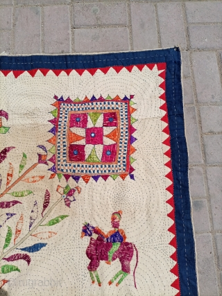 Daniya from Saurashtra area of Gujarat.Nice condition and good age.Email for more info and price.