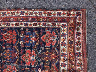 "Antique Persian Afshar rug -  ca. 1880. 4'6"" x 5'3"".