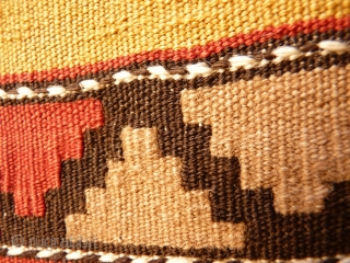 Extremelly fine kilim with a beautiful range of colours. Mint condition, 19th century. 255x145 cms
