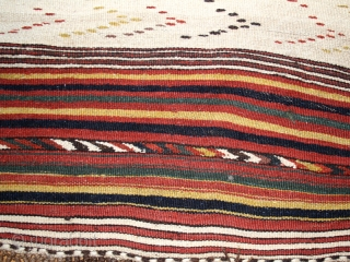 Kilim cod. 0423. North Afghanistan Sar I Pul area. Very good condition. Dimension cm. 140 x 270 (55 x 106 inches). Weekend offer.