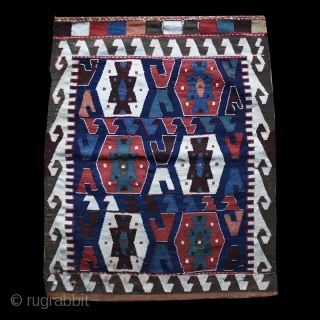 Bagface cod. 0683. Wool natural dyes. The Caucasus.2nd half 19th. century. Cm. 57 x 60 (22.5 x 23.5 inches). Very good condition.