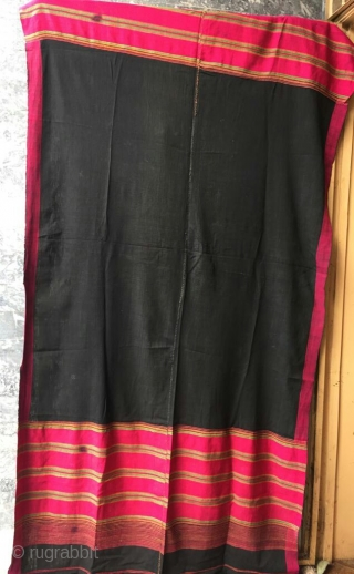 Tribal Swat valley Silk shawl , complete handcrafted with silk threads. Size  92 × 46 inches