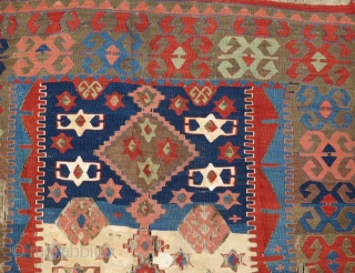 Anatolian kilim fragment .182 x 105 cm