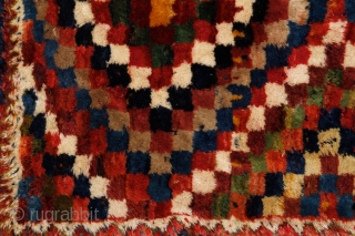 Bakhtiari gabbeh, 180x108cm, first half of 20th century.