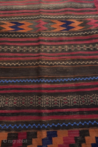 AUTHENTIC Afghan Kochi Sumak (Soumac) circa 1990 267x102cm