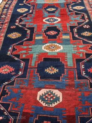 Late 19th or early 20th century Kazak (likely Lesghi) in a very good condition 