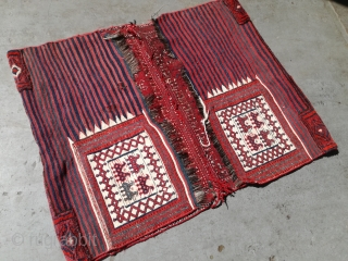 An antique Bakhtiar Tasheh 105 cm width. Good condition.
