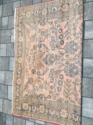 Old Iran Lilihan with 190/150 cm. Good shape for its age.