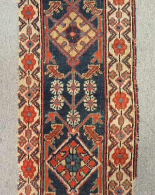 Antique Nort West Persian fragment Size.70x33Cm