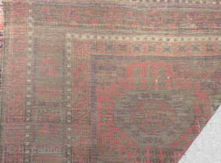 Antique Baluch Carpet There is some place repile Size.290x177cm