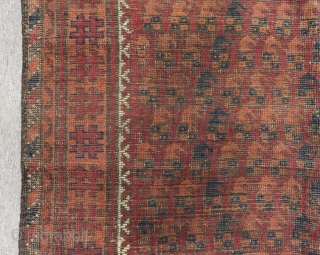 Antique Baluch Rug Size.135x110 Cm