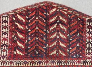 Mid 19th Century Türkmen Yamud Asmalik Size.100x65 Cm