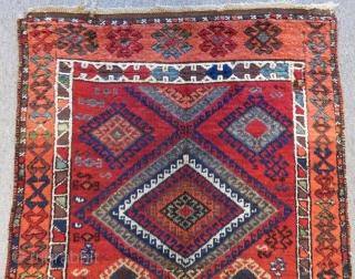 Mid 19th Century East Anatolian Rug Size.280x98cm