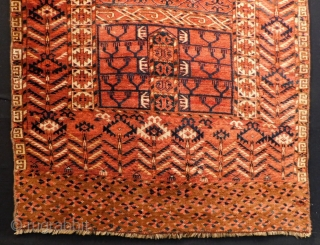 Antique Türkmen Tekke Ensi Rug Size.170x103 Cm